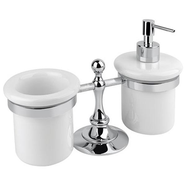 Стакан и дозатор для жидкого мыла Cezares Olimp TDT 02 Бронза дозатор для жидкого мыла cezares olimp olimp soi 02 m