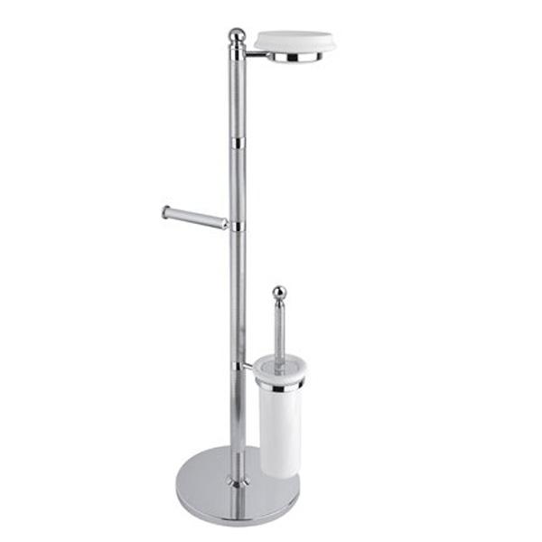 Напольная стойка Cezares Olimp WCS 01 Хром стойка напольная для туалета fabio хром
