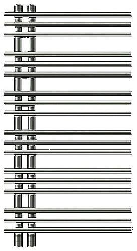 Полотенцесушитель Zehnder Yucca asymmetric YAE-090-050/YD (VD) Нержавеющая сталь правый с электропатроном WIVAR и блоком ДУ чин чи ла