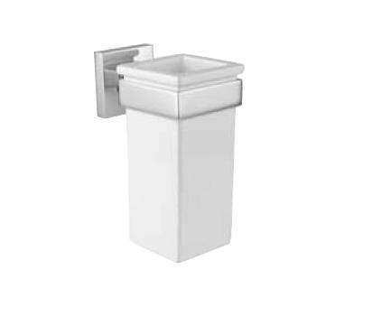 Performa quadro 22802 CR (хром)Аксессуары для ванной<br>Стакан настенная Bugnatese quadro 22802 CR.<br>