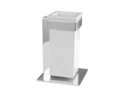 Performa quadro 22803 CR (хром)Аксессуары для ванной<br>Стакан настольный Bugnatese quadro 22803 CR.<br>