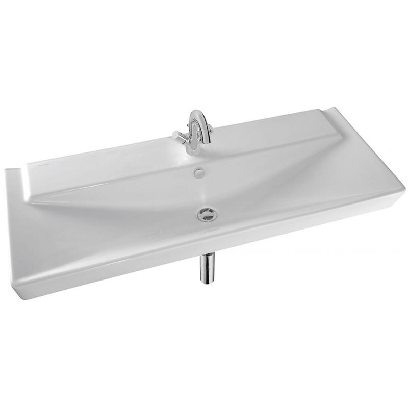 Reve 120 E4800-00 БелаяРаковины<br>Раковина Jacob Delafon Reve 120 E4800-00.<br>Необычная V-образная форма чаши с элегантными и дерзкими линиями. Раковина дополнит ванную комнату в современном стиле и станет изящным завершением интерьера.<br>Изготовлена из санфарфора - гладкого и прочного материала. Качественная глазурь не впитывает грязь, устойчива к бытовым повреждениям, долго сохраняет первоначальную белизну и блеск.<br>Смягченные углы облегчает уход за раковиной.<br>Готовое отверстие под смеситель.<br>Переливное отверстие с хромированной заглушкой.<br>Цвет: белый.<br>Монтаж: подвесная или на мебель.<br>В комплекте поставки: раковина, заглушка для перелива Е4061.<br>