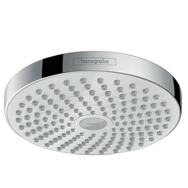 Верхний душ Hansgrohe Croma Select S 18 26522400 Белый/Хром верхний душ hansgrohe croma select e 180 26524000 хром
