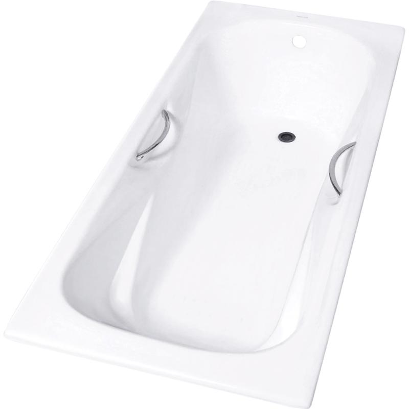 Zya 9-4 170x75 с противоскользящим покрытиемВанны<br>Чугунная ванна Aqualux Zya 9-4 170x75.<br>Классический вид, прямоугольная форма и элегантный дизайн подчеркнут изысканность интерьера ванной комнаты.<br>Размер: 170x75x42 см.<br>Цвет: белый.<br>Материал: чугун.<br>На дне ванны предусмотрены насечки anti-slip, предотвращающие скольжение.<br>Внутреннее покрытие ванны: щелочеустойчивое эмалевое покрытие.<br>Слив перелив:<br>с сифоном,<br>материал: пластик,<br>цвет: хром.<br>В комплекте поставки: чаша ванны, слив-перелив.<br>