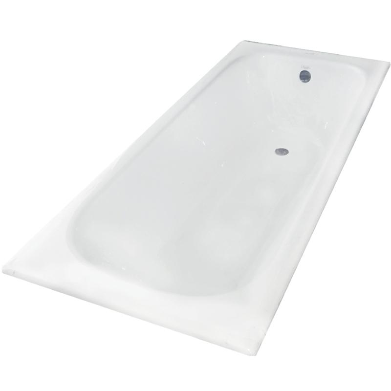 Zya 150x70 без противоскользящего покрытияВанны<br>Чугунная ванна Aqualux Zya 150x70.<br>Классический вид, прямоугольная форма и элегантный дизайн подчеркнут изысканность интерьера ванной комнаты.<br>Размер: 150x70x42 см.<br>Цвет: белый.<br>Материал: чугун.<br>Внутреннее покрытие ванны: щелочеустойчивое эмалевое покрытие.<br>Слив перелив:<br>с сифоном,<br>материал: пластик,<br>цвет: хром.<br>В комплекте поставки: чаша ванны, слив-перелив.<br>