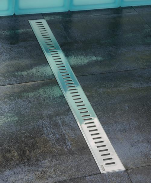 Zebra 1050 хромДушевые трапы и лотки<br>Ravak Zebra 1050 X01393 Сливной канал изготовленный из нержавеющей стали.<br>