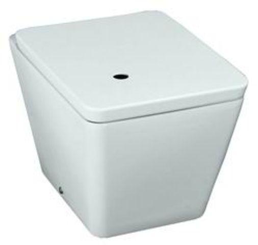 Alessi Dot 2490.6 ПриставнойУнитазы<br>Унитаз напольный приставной Laufen Alessi Dot 2490.6.400.000.1. Крышка-сиденье 9290.1.300.000.1 приобретается отдельно.<br>