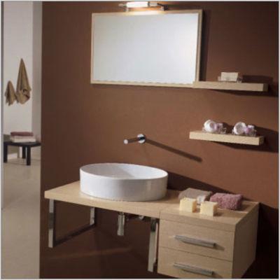 Brio System 130 Каштан отбеленныйМебель для ванной<br>Полка подвесная Scarabeo Brio System. Все дополнительное оборудование приобретается отдельно.<br>