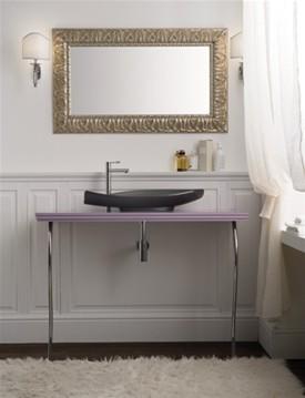 Antika 610 Матовая каштановаяМебель для ванной<br>Полка подвесная Scarabeo Antika. Все дополнительное оборудование приобретается отдельно.<br>