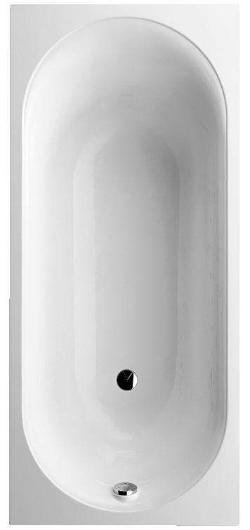 Cetus 170x75 UBQ170CEU2V-01 Белый альпинВанны<br>Ванна Villeroy&amp;Boch Cetus UBQ170CEU2V-01 прямоугольная. Цена указана за ванну в комплекте с ножками. Цвет белый альпин.<br>
