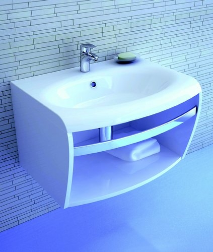 SD Evolution белая/белаяМебель для ванной<br>SD Evolution с держателем для полотенца.<br>