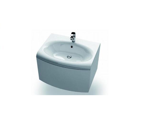 SDS Evolution белая/белаяМебель для ванной<br>SDS Evolution с выдвижным ящиком.<br>