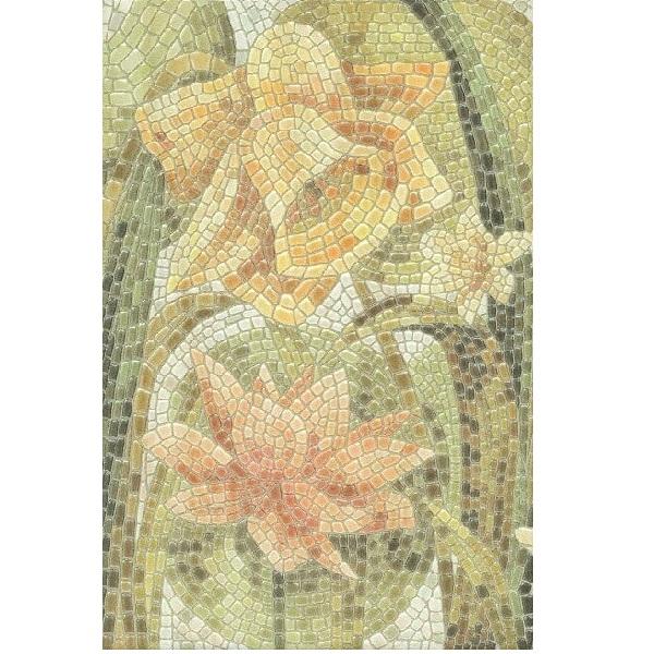 Керамический декор Kerama Marazzi Летний сад Лилии лаппатированный HGD/A145/880L 20х30 см протоиерей владимир гофман персиковый сад рассказы