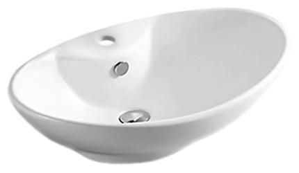 MR-8043 белаяРаковины<br>Раковина накладная Mira MR-8043, с одним отверстием под смеситель, с переливом, изготовлена из керамики высокого качества. Керамика проходит ряд термических обработок, что позволяет раковине долгое время оставаться крепкой и не трескаться, а также сохранять белизну и блеск покрытия. Цена указана за чашу раковины. Все остальное приобретается дополнительно.<br>