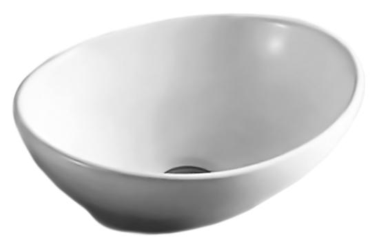 MR-8021 белаяРаковины<br>Раковина накладная Mira MR-8021, без отверстия под смеситель, без перелива, изготовлена из керамики высокого качества. Керамика проходит ряд термических обработок, что позволяет раковине долгое время оставаться крепкой и не трескаться, а также сохранять белизну и блеск покрытия. Цена указана за чашу раковины. Все остальное приобретается дополнительно.<br>