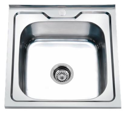 50x60 P65060 хром глянцевыйКухонные мойки<br>Кухонная мойка накладная Potato 50x60 P65060 с одной чашей, изготовлена из нержавеющей стали, толщиной 0,6 мм, с глянцевой поверхностью. Цена указана за чашу мойки. Все остальное приобретается дополнительно.<br>
