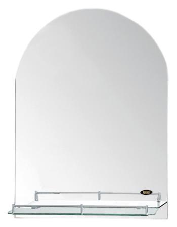 50x70 P703 хромМебель для ванной<br>Универсальное зеркало Potato 45x60 P703 с полочкой, подойдет для любого интерьера. Цена указана за зеркало с полочкой. Все остальное приобретается дополнительно.<br>