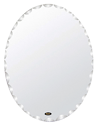 45x60 P711 хромМебель для ванной<br>Универсальное зеркало Potato 45x60 P711 с узорным фацетом, подойдет для любого интерьера. Цена указана за зеркало. Все остальное приобретается дополнительно.<br>