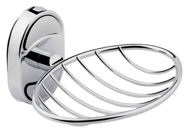 P2902-1 хромАксессуары для ванной<br>Настенная мыльница Potato P2902-1 из хромированного металла. Цена указана за мыльницу и комплект креплений. Все остальное приобретается дополнительно.<br>