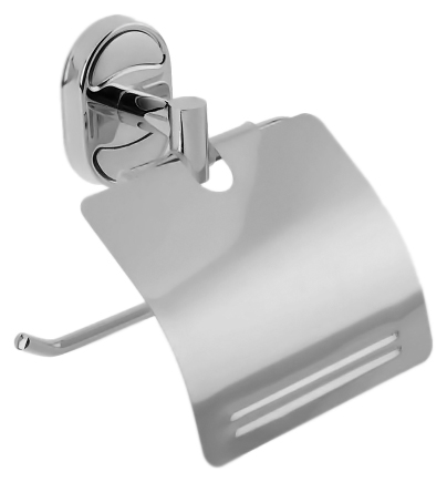 P2903 хромАксессуары дл ванной<br>Держатель туалетной бумаги с крышкой Potato P2903 из хромированного металла. Цена указана за держатель туалетной бумаги и комплект креплений. Все остальное приобретаетс дополнительно.<br>