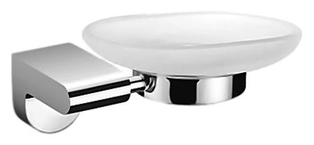 P2302 хром/белаяАксессуары для ванной<br>Настенная мыльница Potato P2302 из хромированного металла и матового белого стекла. Цена указана за мыльницу и комплект креплений. Все остальное приобретается дополнительно.<br>