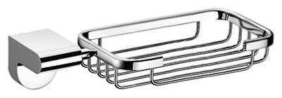 P2302-2 хромАксессуары для ванной<br>Настенная мыльница Potato P2302-2 из хромированного металла. Цена указана за мыльницу и комплект креплений. Все остальное приобретается дополнительно.<br>