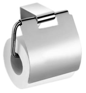 P2303 хромАксессуары для ванной<br>Держатель туалетной бумаги с крышкой Potato P2303 из хромированного металла. Цена указана за держатель туалетной бумаги и комплект креплений. Все остальное приобретается дополнительно.<br>