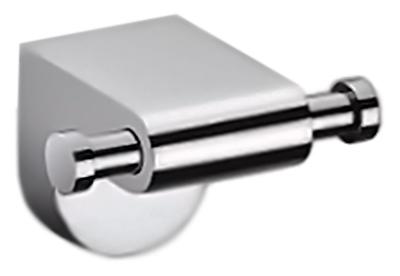 P2305-2 хромАксессуары для ванной<br>Двойной крючок для полотенец Potato P2305-2 из хромированного металла. Цена указана за крючок для полотенец и комплект креплений. Все остальное приобретается дополнительно.<br>