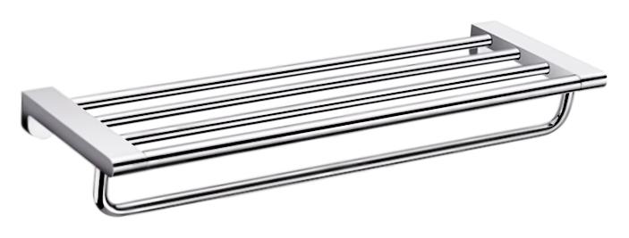 P2311 хромАксессуары для ванной<br>Настенная полка для полотенец Potato P2311 из хромированного металла. Цена указана за полку для полотенец и комплект креплений. Все остальное приобретается дополнительно.<br>