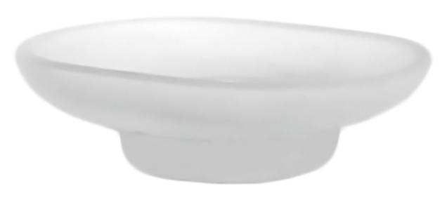 Мыльница Potato P203 белая