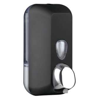 Black 03012 ЧерныйАксессуары для общественных санузлов<br>Диспенсер для жидкого мыла Nofer Black 03012, черный<br>