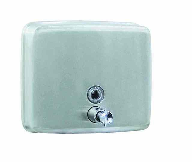 03004.W БелыйАксессуары для общественных санузлов<br>Диспенсер для жидкого мыла Nofer 03004.W, белый<br>