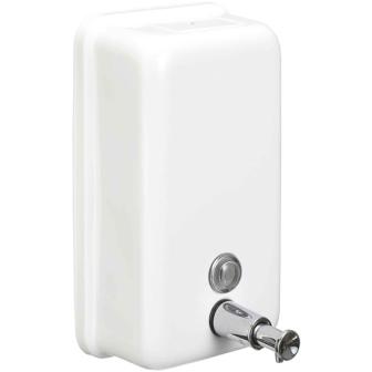 купить Диспенсер для жидкого мыла Nofer 03001.W Белый по цене 3696 рублей