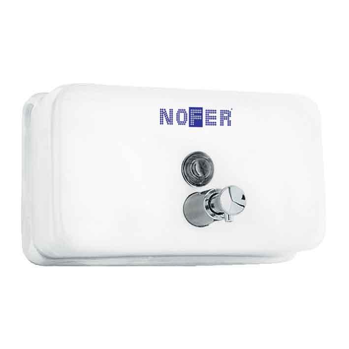 Диспенсер для жидкого мыла Nofer 03002.W Белый