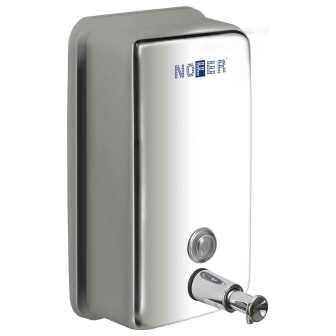 Диспенсер для жидкого мыла Nofer 03001.B Белый