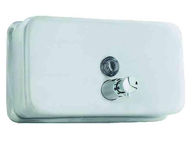 03002.B БелыйАксессуары для общественных санузлов<br>Диспенсер для жидкого мыла Nofer 03002.B, белый<br>