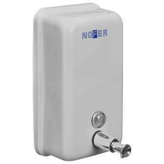Диспенсер для жидкого мыла Nofer 03001.S Белый все цены