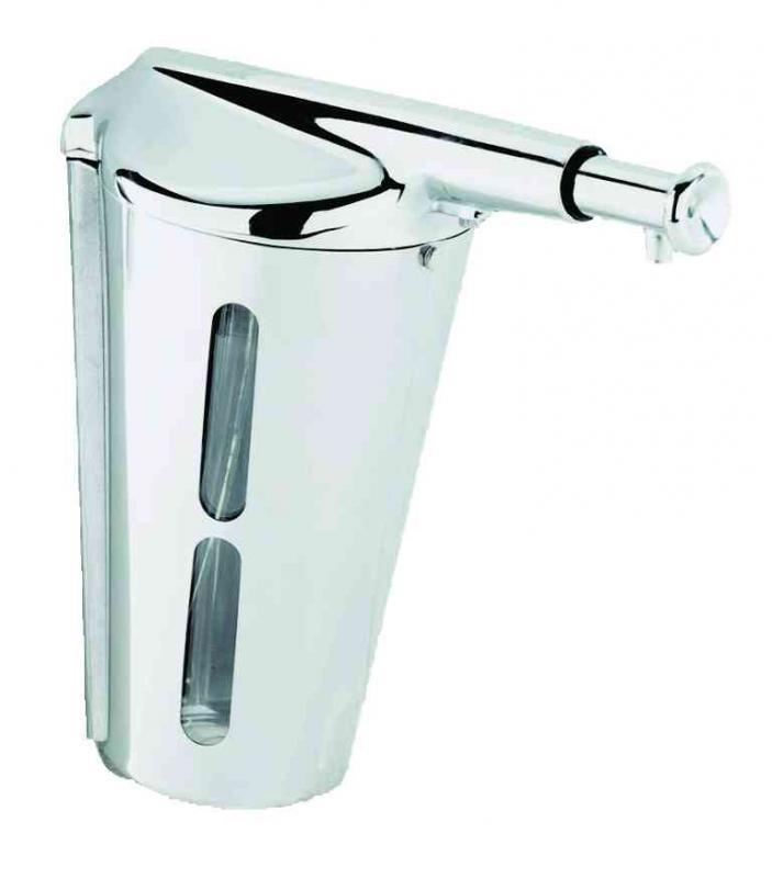 Диспенсер для жидкого мыла Nofer 03003.B Белый