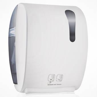 Диспенcер для бумажных полотенец Nofer 04033.W Белый nuova стенд для бумажных полотенец 29см прованс