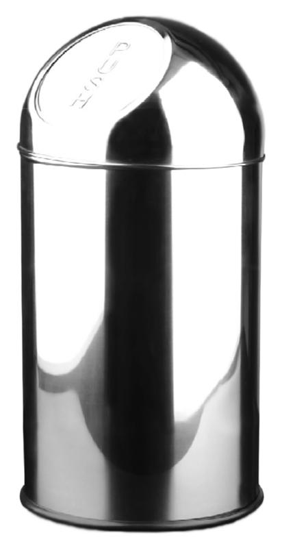10 14114.B хром, глянцевоеАксессуары для общественных санузлов<br>Ведро для мусора Nofer 10 14114.B, объемом 10 литров. Герметичная крышка push-open, удобно открывается нажатием и возвращается в исходное положение. Ведро выполнено из нержавеющей стали AISI 304, толщиной 0,35 мм, долговечно и устойчиво к коррозии, легко очищается. Гладкий, без острых углов, безопасный корпус. Подходит для учреждений и офисных зданий. Высота 400 мм, диаметр 200 мм. Цена указана за ведро для мусора. Все остальное приобретается дополнительно.<br>