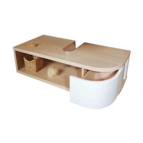 SDU Praktik S береза/белая S LМебель для ванной<br>Тумба под умывальник SDU Praktik S L береза/белая. Раковина в комплект не входим.<br>