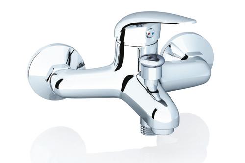 SN 022.00/100 хромСмесители<br>Настенный смеситель для ванны, 100 мм.<br>