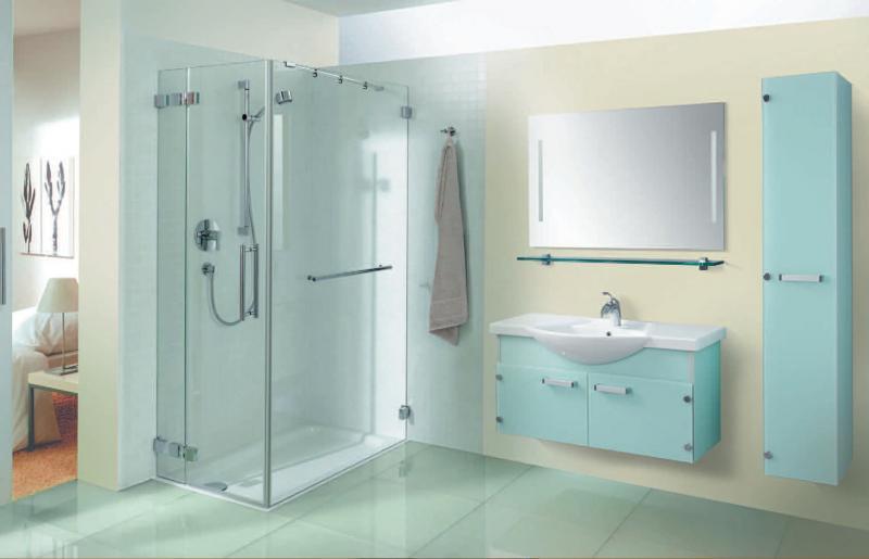 VN115 БелыйМебель для ванной<br>В стоимость входит тумба с раковиной Verona ПТ 90. Тумба подвесная с распашными дверцами снабженными амортизаторами и стеклянными полками внутри, раковина Vidima из санфаянса. Зеркало приобретается отдельно.<br>