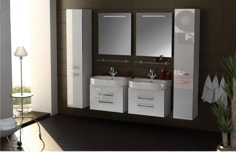 Area AR101 МеталликМебель для ванной<br>В стоимость входит тумба с раковиной Verona Area ПТ 600. Тумба подвесная с двумя выдвижными ящиками с механизмом плавного закрытия, раковина из санфаянса. Зеркало приобретается отдельно.<br>