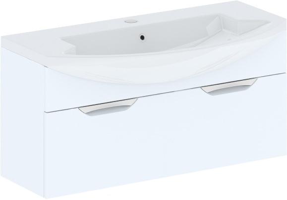 Cosmo New Estra 108 подвесная Бежевый глянецМебель для ванной<br>В цену входит тумба подвесная Gemelli Сosmo New Estra укомплектованная раковиной Logic. Все комплектующие (зеркала, пеналы, шкаф) приобретаются отдельно.<br>