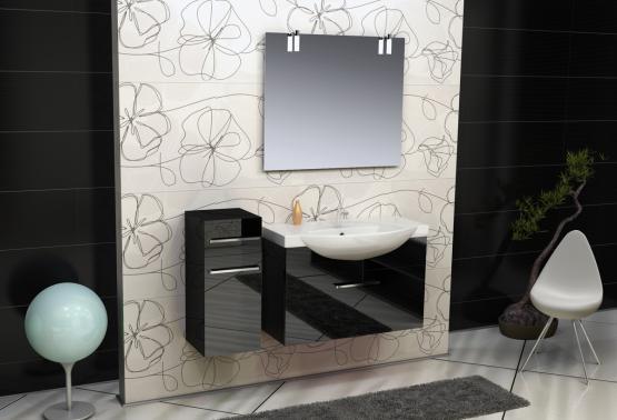 Solo SL104 БелыйМебель для ванной<br>В стоимость входит тумба с раковиной Verona Solo ПТ 850. Тумба подвесная с одним выдвижным ящиком снабженным амортизатором и немецкой фурнитурой, раковина из санфоянса. Зеркало приобретается отдельно.<br>