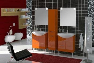 Solo SL212 КрасныйМебель для ванной<br>В стоимость входит тумба с раковиной Verona Solo НТД 650. Тумба напольная с двумя распашными дверцами снабженными амортизаторами и немецкой фурнитурой, раковина из санфоянса. Зеркало приобретается отдельно.<br>