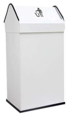 Урна для мусора Nofer 41 14118.2 W белая