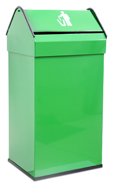 цена на Урна для мусора Nofer 41 14118.2 G зеленая