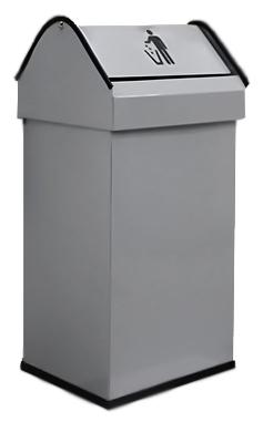 41 14118.2 S сераяАксессуары для общественных санузлов<br>Урна для мусора Nofer 41 14118.2 S, объемом 41 литр. Герметичная крышка push-open, удобно открывается нажатием и возвращается в исходное положение. Урна выполнена из металла, окрашенного в серый цвет, с безопасными краями из пластика. Подходит для учреждений и офисных зданий. Высота 650 мм. Цена указана за урну для мусора. Все остальное приобретается дополнительно.<br>